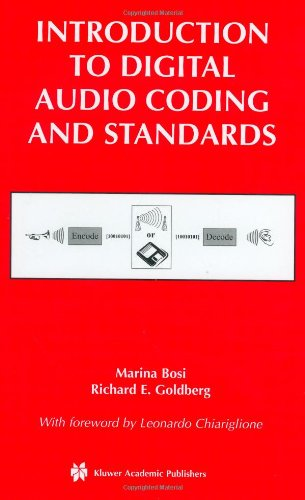 Introduction to Digital Audio Coding and Standards   2003 edition cover