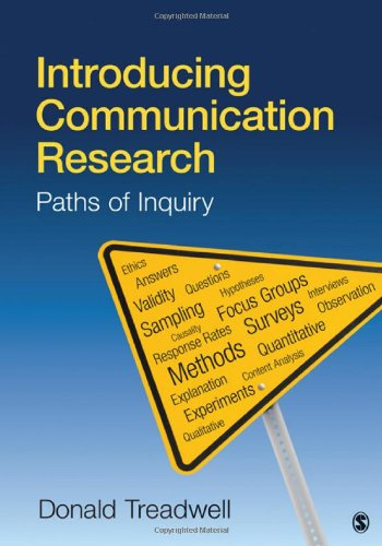Introducing Communication Research Paths of Inquiry  2011 edition cover