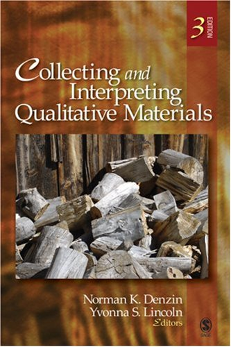 Collecting and Interpreting Qualitative Materials  3rd 2008 edition cover