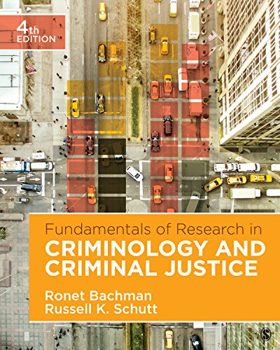 Fundamentals of Research in Criminology and Criminal Justice  4th 2018 9781506359571 Front Cover