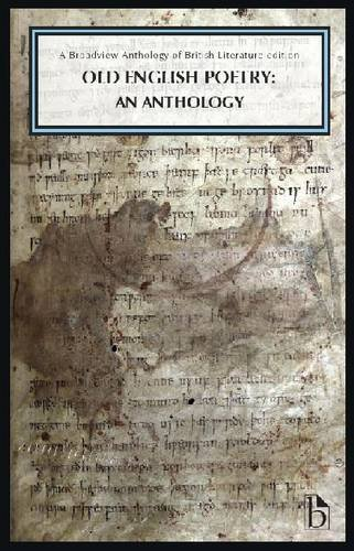 Old English Poetry An Anthology  2014 edition cover