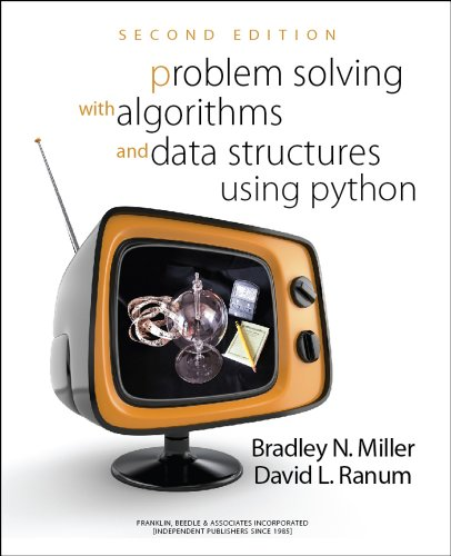 Problem Solving with Algorithms and Data Structures Using Python  N/A edition cover