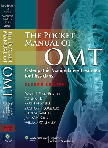 Pocket Manual of OMT Osteopathic Manipulative Treatment for Physicians 2nd 2011 (Revised) edition cover