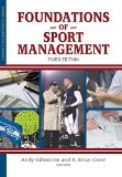 Foundations of Sport Management  N/A edition cover