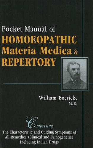 Pocket Manual of Homoeopathic  N/A edition cover