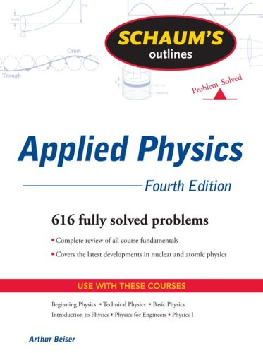 Applied Physics  4th 2009 edition cover