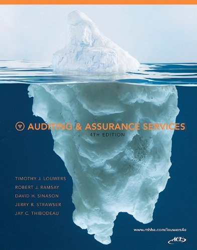 Auditing and Assurance Services  4th 2011 edition cover