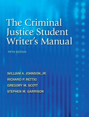 Criminal Justice  5th 2011 (Revised) edition cover