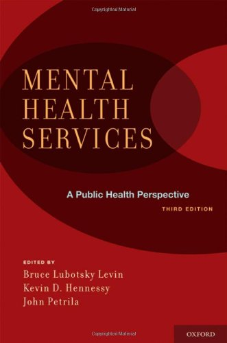 Mental Health Services A Public Health Perspective 3rd 2010 edition cover