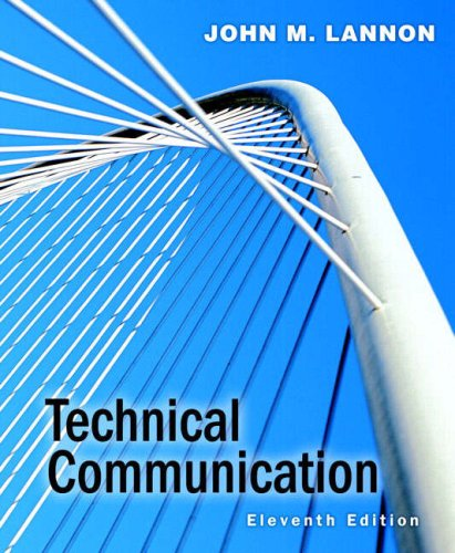 Technical Communication  11th 2008 edition cover