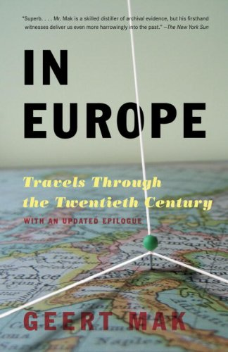 In Europe Travels Through the Twentieth Century N/A edition cover
