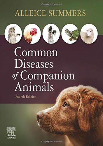 Common Diseases of Companion Animals  4th 2020 9780323596572 Front Cover