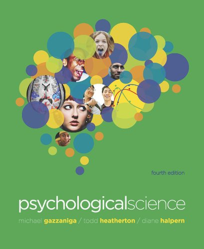 Psychological Science  4th 2013 edition cover
