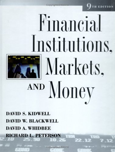 Financial Institutions, Markets, and Money  9th 2006 (Revised) edition cover