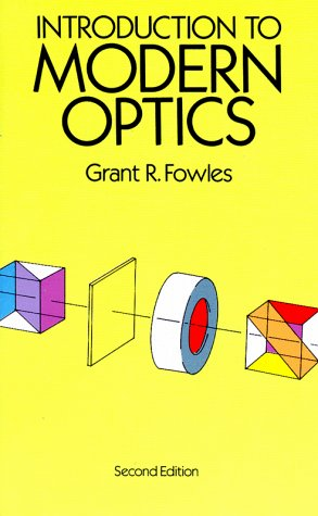 Introduction to Modern Optics  2nd 1989 edition cover