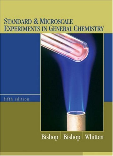 Standard and Microscale Experiments in General Chemistry  5th 2004 (Revised) 9780534424572 Front Cover