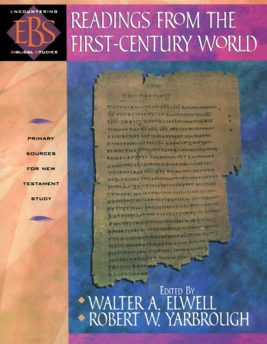 Readings from the First-Century World Primary Sources for New Testament Study N/A edition cover