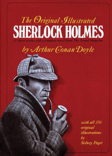 Original Illustrated Sherlock Holmes  Facsimile edition cover