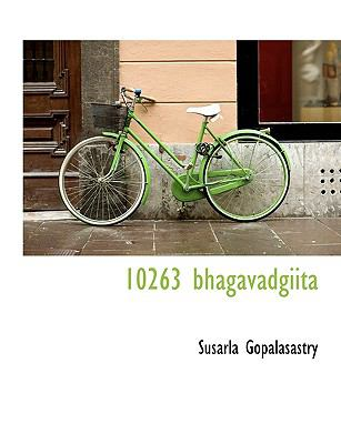 10263 Bhagavadgiit N/A 9781113602572 Front Cover