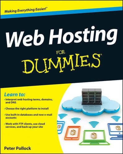 Web Hosting for Dummies   2013 9781118540572 Front Cover