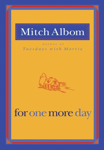 For One More Day  N/A edition cover