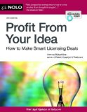 Profit from Your Idea How to Make Smart Licensing Deals 8th 2014 edition cover