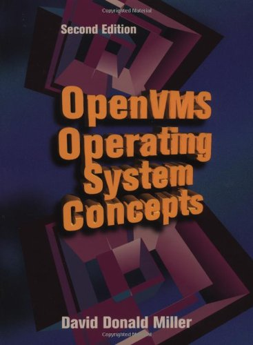 OpenVMS Operating System Concepts  2nd 1997 (Revised) 9781555581572 Front Cover