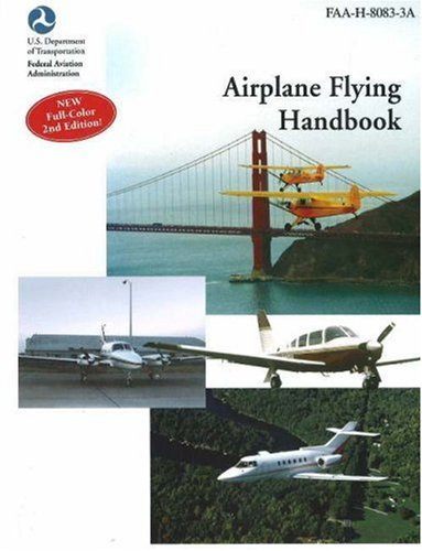 Airplane Flying Handbook Faa-H-8083-3a 2nd edition cover