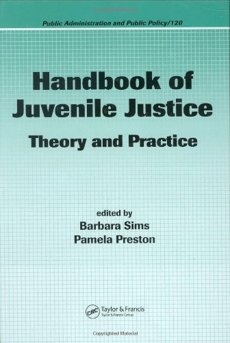 Handbook of Juvenile Justice Theory and Practice  2006 edition cover