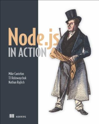 Node. Js in Action   2012 edition cover