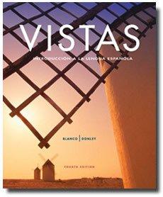 Vistas  4th 2011 (Revised) edition cover