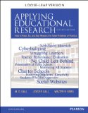 Applying Educational Research How to Read, Do, and Use Research to Solve Problems of Practice 7th 2015 edition cover