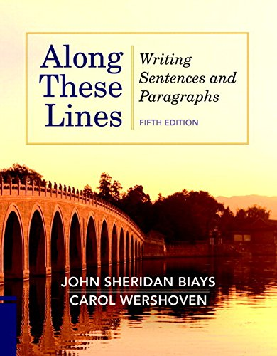 Along These Lines Writing Sentences and Paragraphs Plus MyWritingLab with EText -- Access Card Package 5th 2012 edition cover