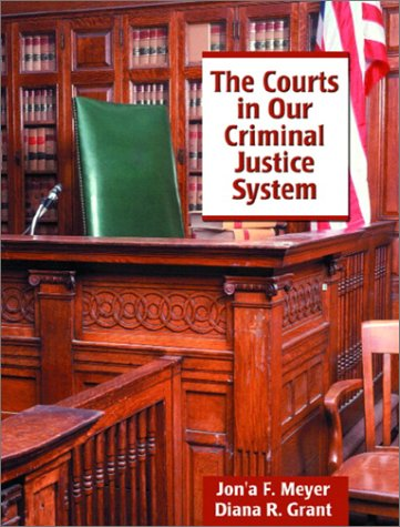 Courts in Our Criminal Justice System   2003 edition cover