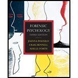 Forensic Psychology  3rd 2012 9780137060573 Front Cover