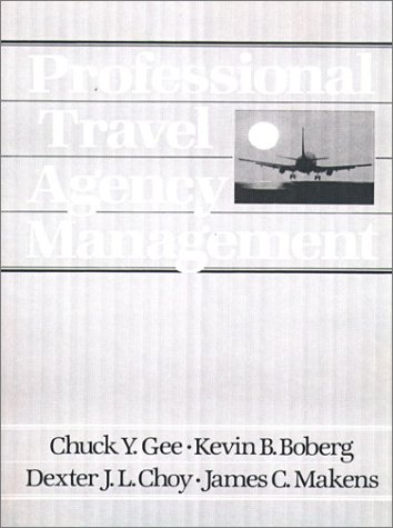 Proffesional Travel Agency Management  1st 1990 edition cover