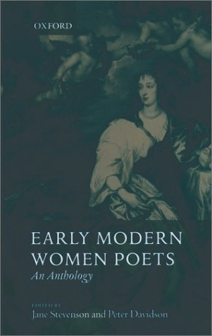 Early Modern Women Poets An Anthology  2001 edition cover