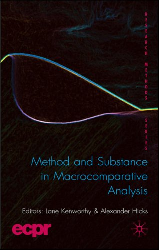 Method and Substance in Macrocomparative Analysis   2008 9780230202573 Front Cover