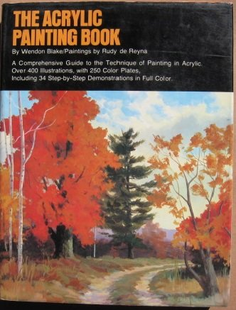 Acrylic Painting Book   1978 edition cover