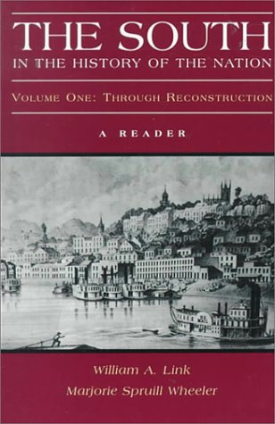 South in the History of the Nation Through Reconstruction N/A edition cover