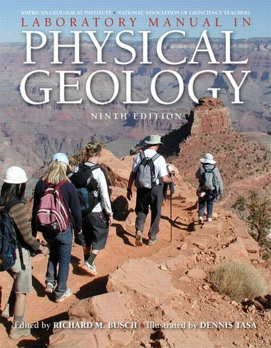 Laboratory Manual in Physical Geology  9th 2012 edition cover