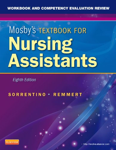 Workbook and Competency Evaluation Review for Mosby's Textbook for Nursing Assistants  8th 2012 edition cover