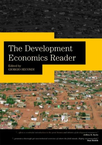 Development Economics Reader   2008 edition cover