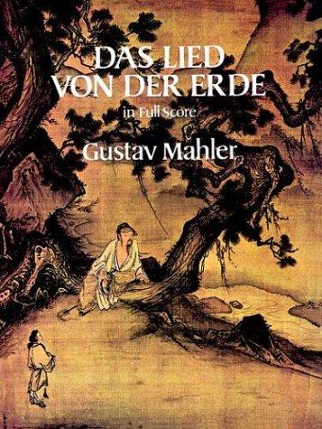 Lied Von der Erde in Full Score  N/A edition cover
