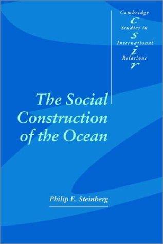 Social Construction of the Ocean   2001 edition cover