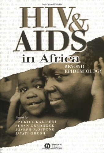 HIV and AIDS in Africa Beyond Epidemiology  2003 edition cover