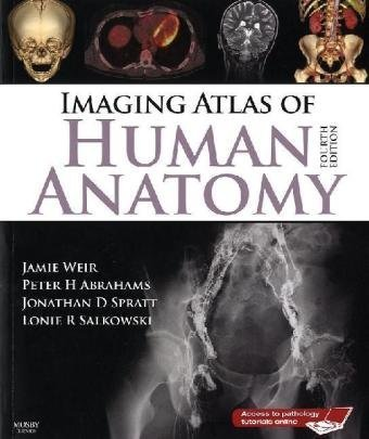 Imaging Atlas of Human Anatomy  4th 2010 edition cover