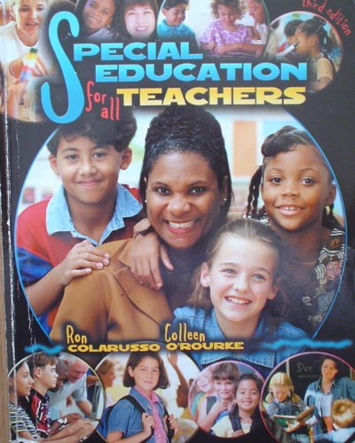 Special Education for All Teachers 3rd 2003 (Revised) 9780757503573 Front Cover