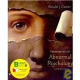 Fundamentals of Abnormal Psychology  6th 2010 edition cover