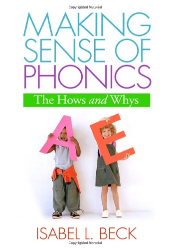 Making Sense of Phonics The Hows and Whys  2006 edition cover